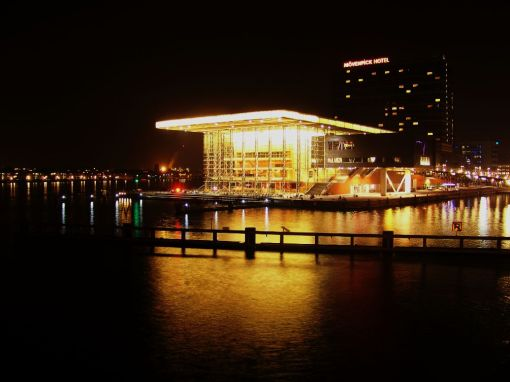 Muziekgebouw aan het IJ